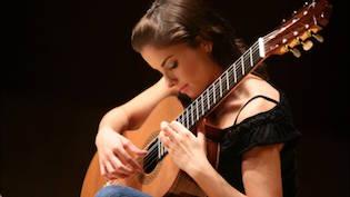 Anna Vidovic - gitaarles
